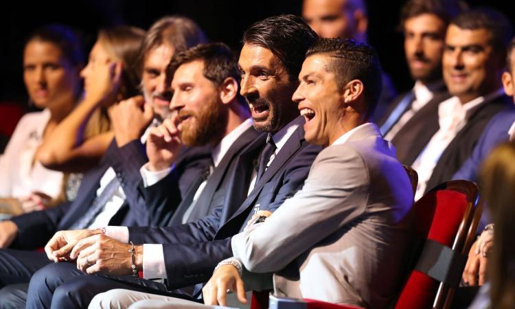 Ronaldo-Buffon, il retroscena: 'Ecco cosa ha detto CR7 agli amici'