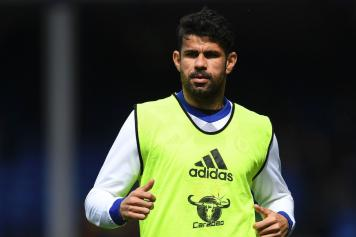 Diego Costa Chelsea allenamento