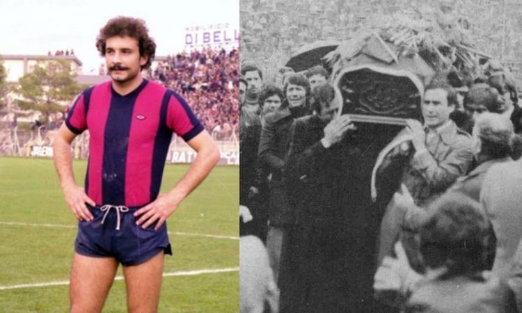 Erasmo Iacovone, 40 anni fa la tragica morte del simbolo del Taranto