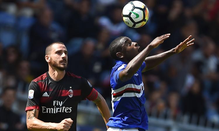 Zapata e Alvarez fanno volare la Samp: 2-0 a un bruttissimo Milan VIDEO