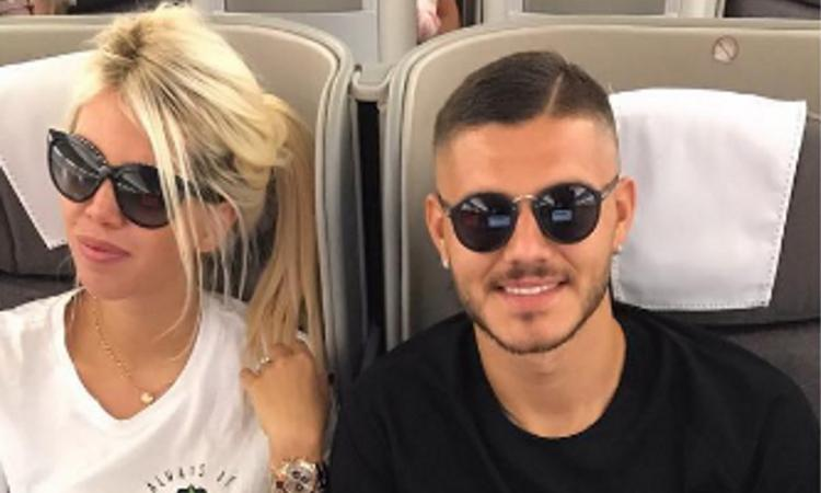 Wanda: 'Icardi degradato, ma vuole restare all'Inter. L'infortunio è vero'