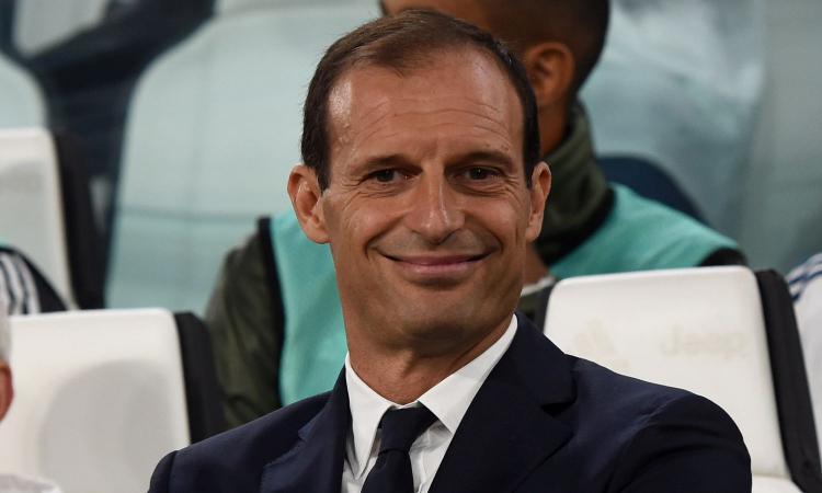 Juve, Allegri: 'Alziamo l'asticella. La Champions League non deve essere un'ossessione'