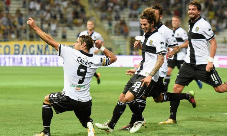 Parma-Avellino, formazioni ufficiali: ci sono Calaiò e Ardemagni