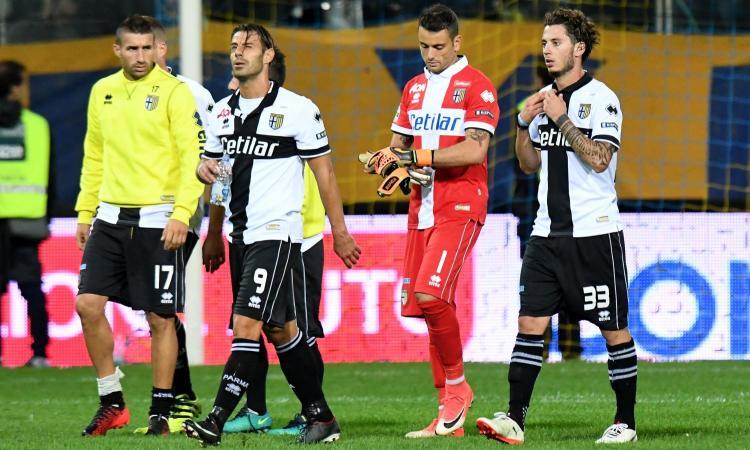 Foggia-Parma 0-3: il tabellino