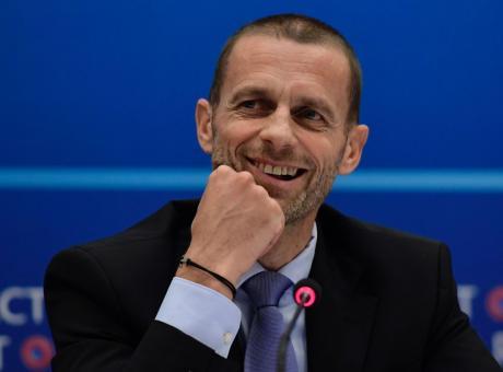 Uefa, solo Ceferin candidato alla presidenza
