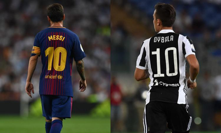 Juve, Dybala: 'Non mi sembra assurdo il paragone con Messi. Ma io...'