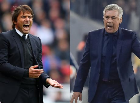 The Sarri, Conte, Ancelotti triangle