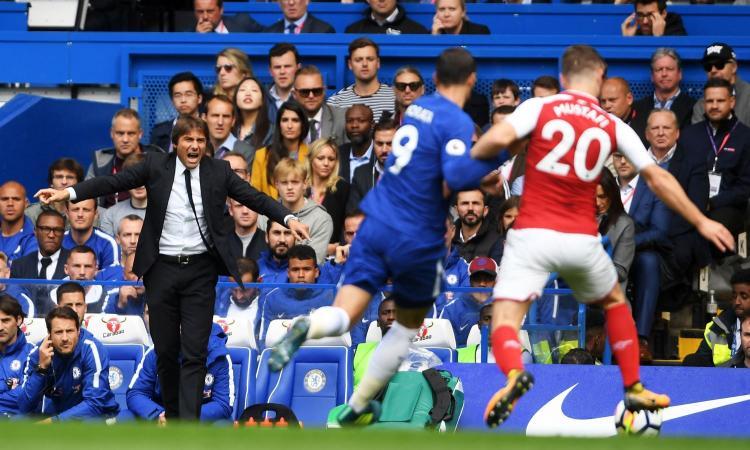 L'Arsenal ferma il Chelsea: è 0-0