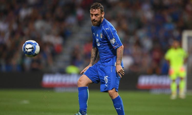 Italia: problema al menisco per De Rossi, può lasciare in ritiro