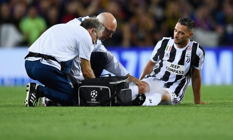 Juve, UFFICIALE: le condizioni di De Sciglio, escluse lesioni di grave entità