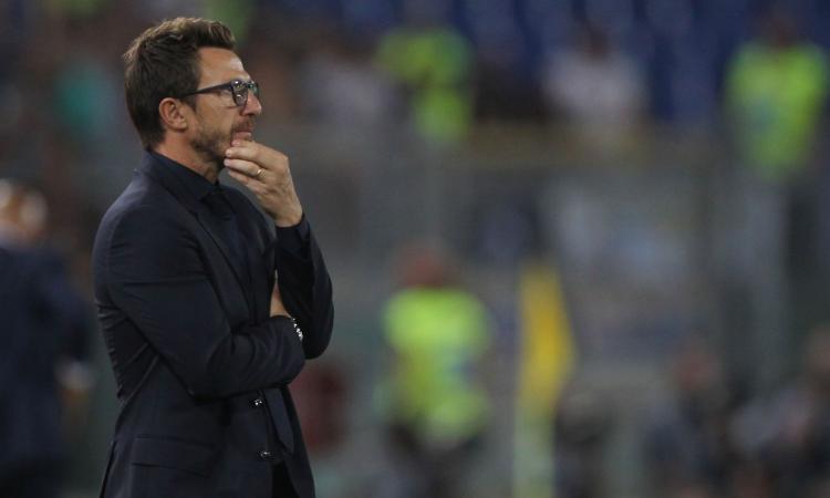 Roma, Di Francesco: 'Dzeko alla van Basten. Scudetto? C'è il Napoli' VIDEO