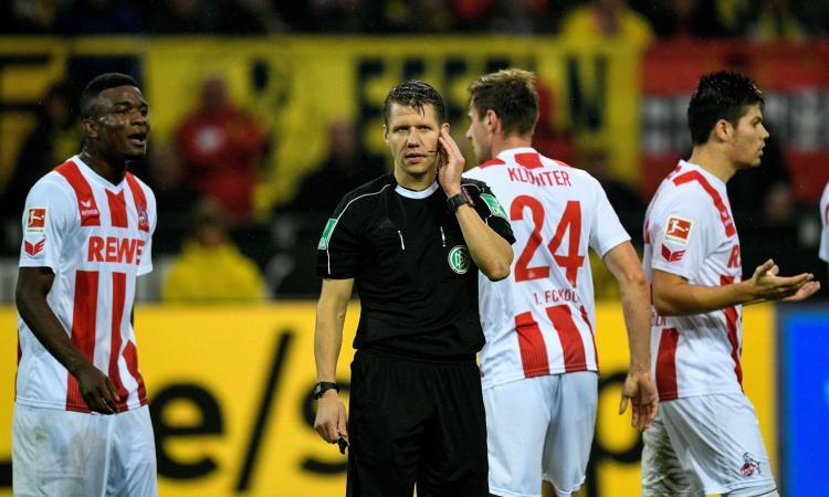 Dortmund, caos VAR: errore arbitrale, il Colonia chiede ripetizione del match