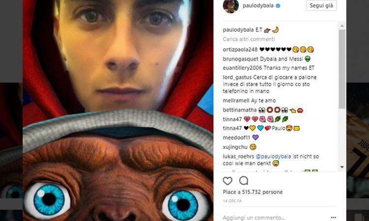 'E.T telefono casa': Dybala chiama la Serie A per tornare extraterrestre