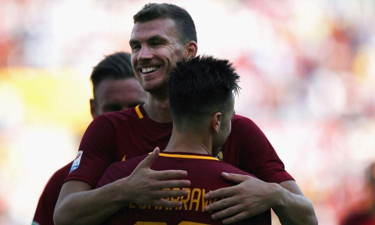 Roma, Dzeko: 'Sono al top della mia carriera, mi manca il gol al Chelsea'