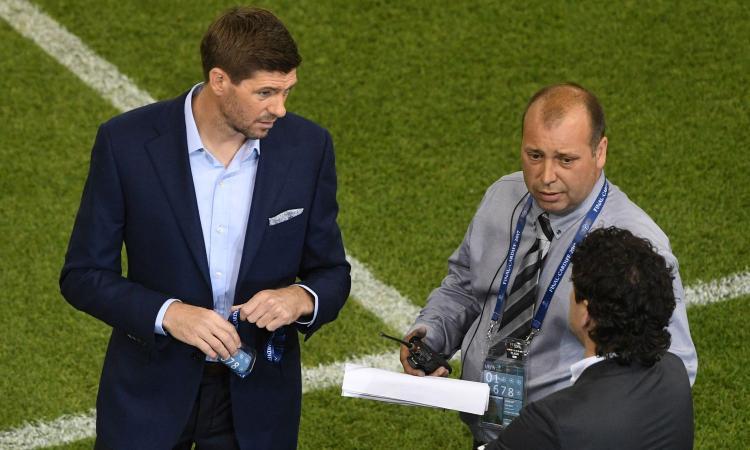 Gerrard: 'Juve? E' in fase calante. Ma con l'esperienza...'