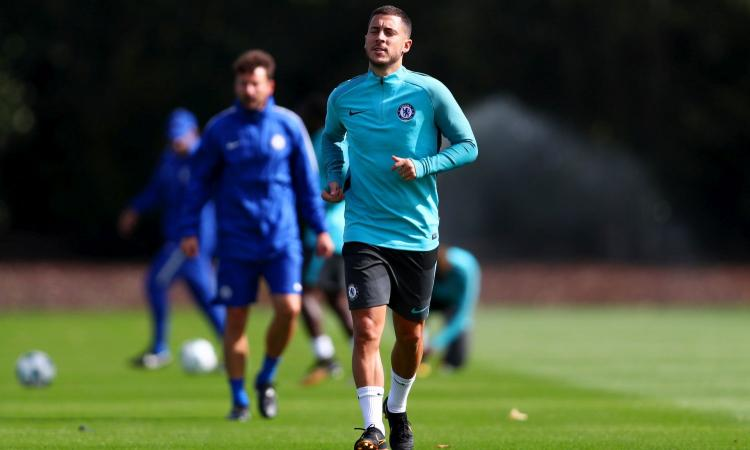 Chelsea o Real Madrid, Hazard al bivio