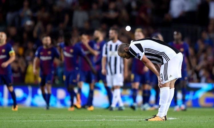 Barcellona-Juve, le pagelle di CM: fantasma Higuain, Iniesta solito mago