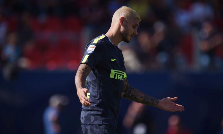Inter, Icardi stecca a Crotone: solo due volte aveva fatto peggio in A