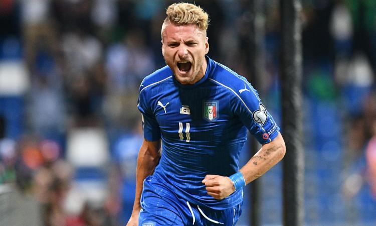 Italia, Immobile: 'Mondiali? Non abbiamo paura di fallire la qualificazione'
