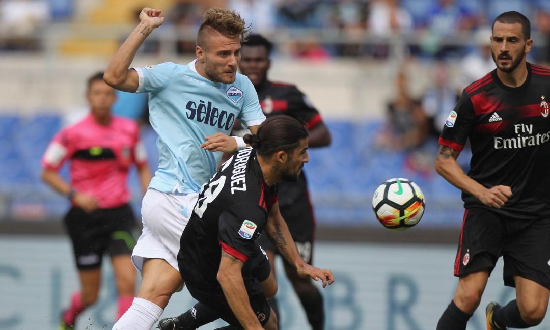 Un temporale chiamato Immobile: pagelle Lazio-Milan