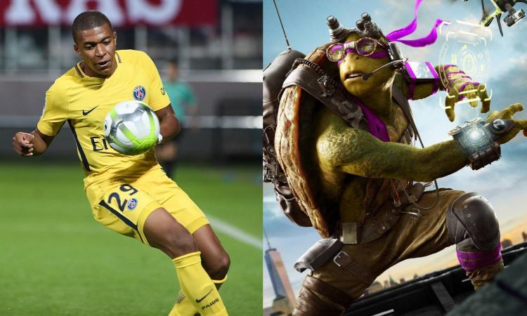 Mbappe Donatello