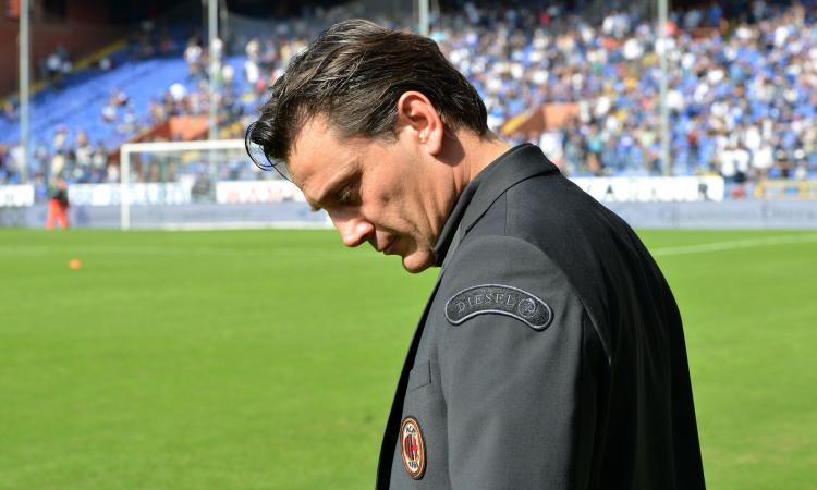 Milan, la società aumenta le perplessità su Montella: quando Mancini...