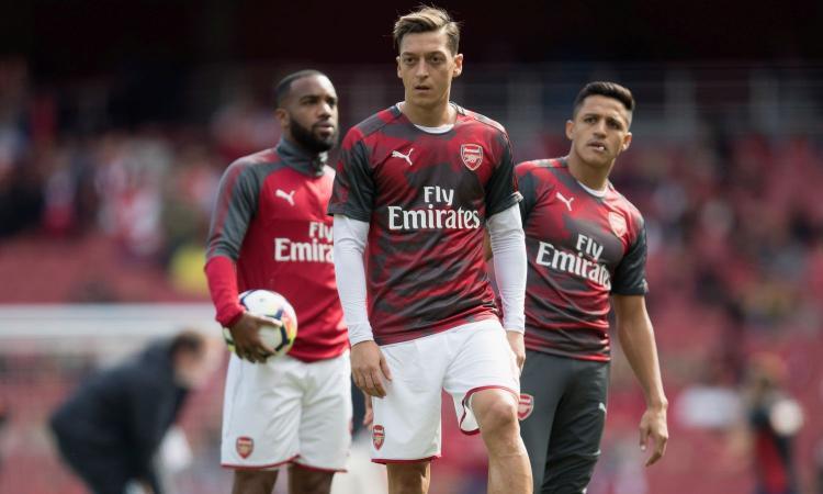 Arsenal: 'Nessuna maxi-richiesta di Ozil per rinnovare il  contratto'