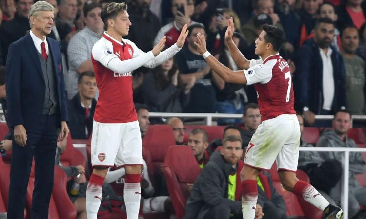 Wenger: 'Sanchez e Ozil possono lasciare l'Arsenal a gennaio' VIDEO