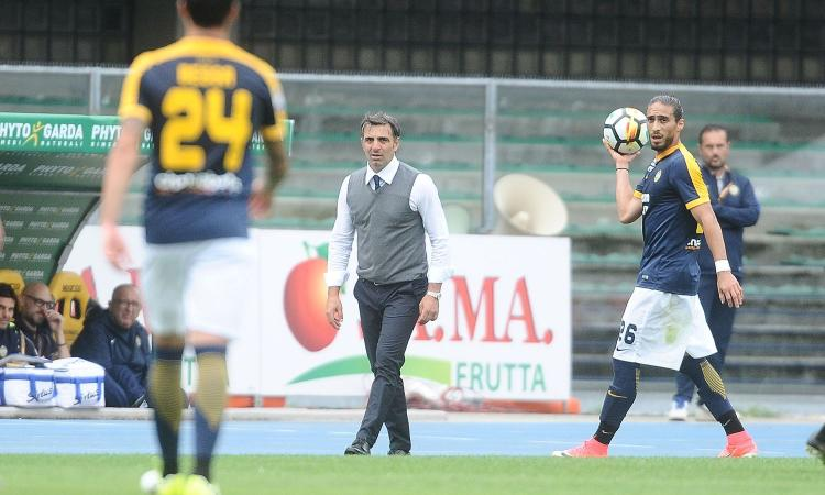 Verona, Pecchia: 'Pazzini? Pretendo molto di più!' VIDEO