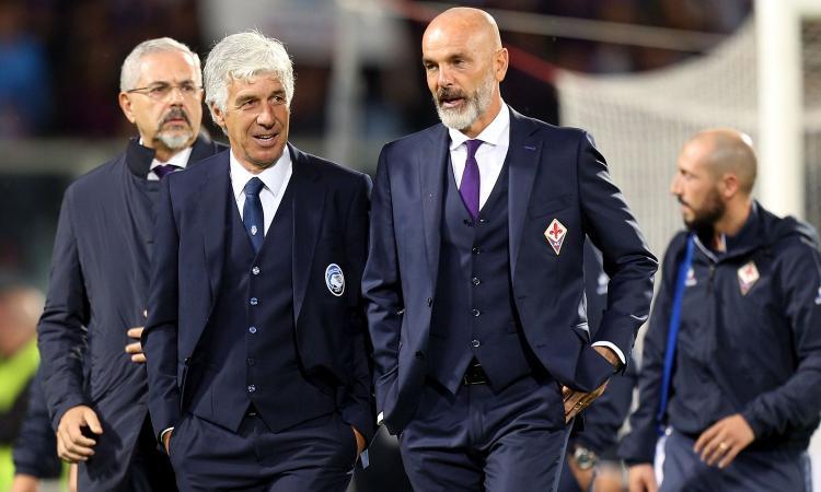 Ds Fiorentina: 'Due rigori netti, e il Var?' Pioli: 'Arbitro discutibile'. Gasperini: 'Che coraggio!' VIDEO