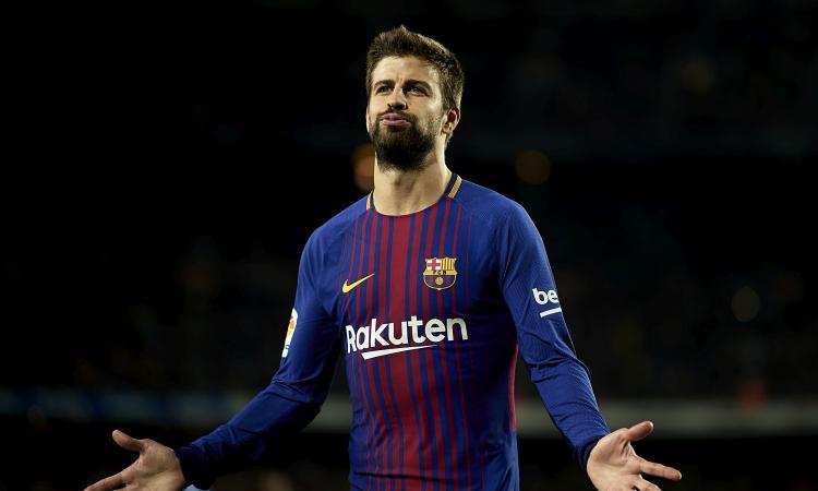 Barcellona, Piqué non rinnova: la Juve ci pensa