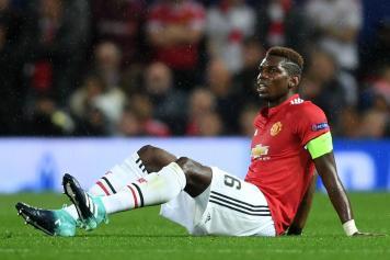 pogba, manchester united, capitano, infortunio, 2017/18