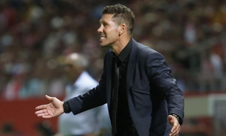 Atletico Madrid, Simeone: 'Noi favoriti per l'Europa League? Non ci pensiamo'