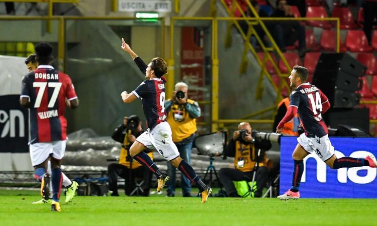 Brutta Inter: 1-1 a Bologna VIDEO