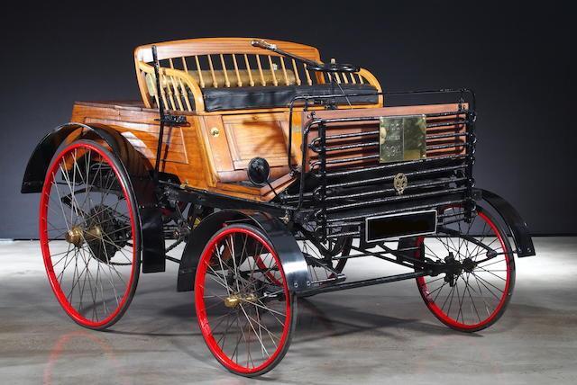 PIT STOP: l'auto più antica al mondo, 123 anni di storia a cifre folli GALLERY