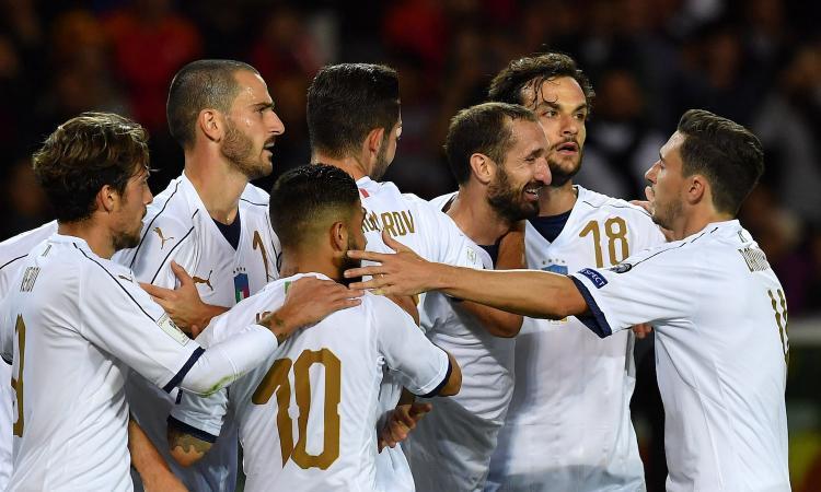 Italia, confronto tra giocatori: obiettivo Mondiale, ma Ventura è un ct solo