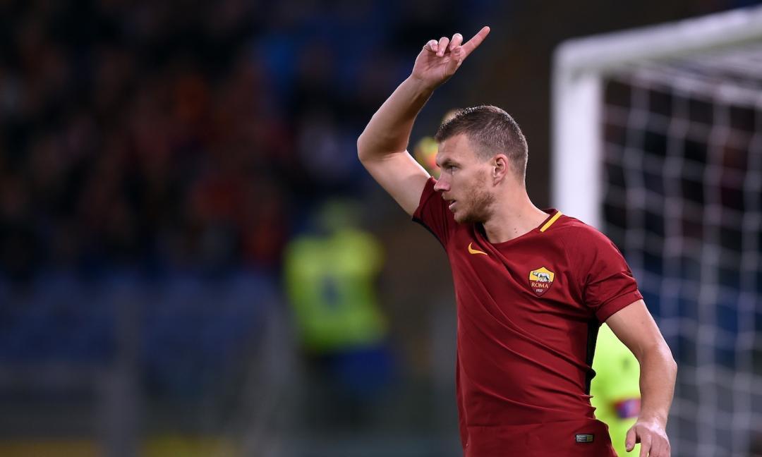 Roma, senza Dzeko e Palmieri rischi la Champions