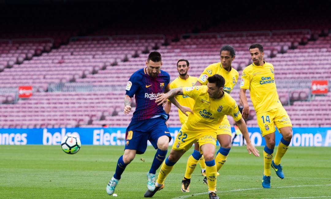 Il Barcellona e il portafogli in due tasche