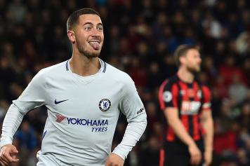 Hazard Chelsea linguaccia