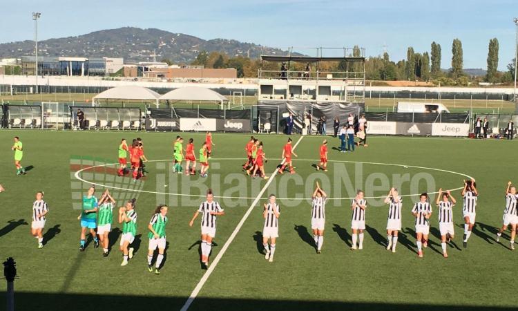 Women, Juventus- Res Roma 4-0: le pagelle