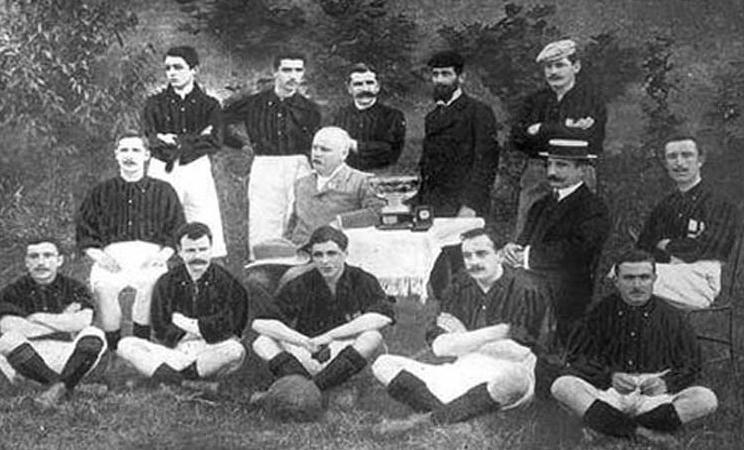 Milan-Juventus 1906: il primo campionato assegnato in segreteria