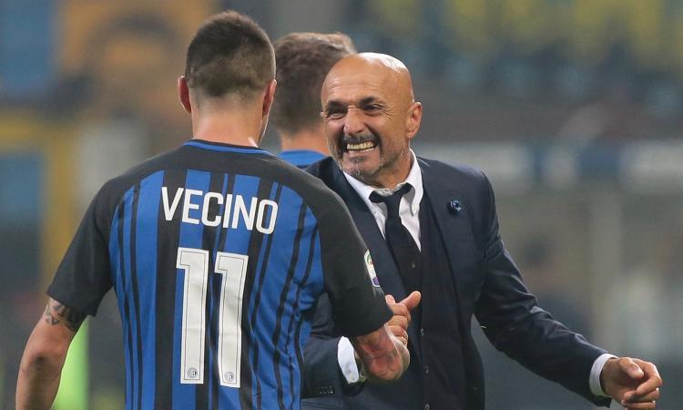 Inter, finalmente Vecino: sul mercato Spalletti lo ha preferito a Matuidi
