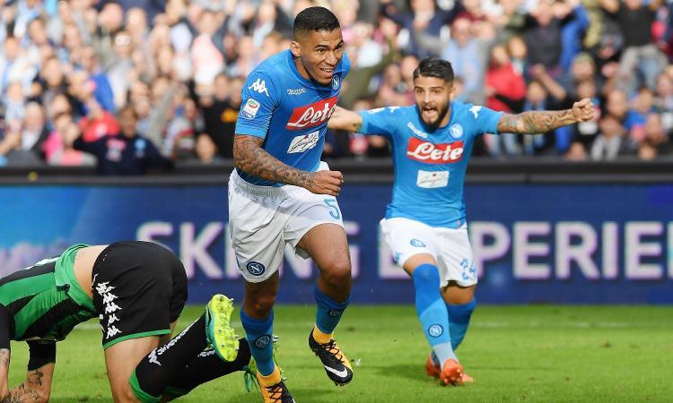 Napoli, le pagelle di CM: Allan migliore in campo, Mertens inarrestabile