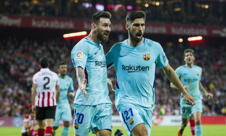 Barcellona: André Gomes contropartita per Pjanic o Milinkovic