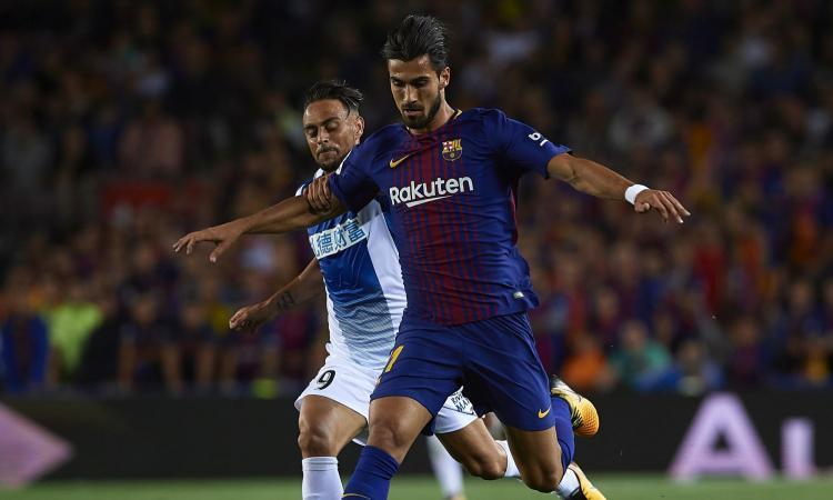Barcellona, André Gomes: 'Non ho mai parlato male di Messi'
