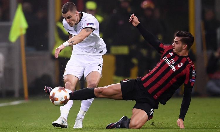 Milan, due club interessati ad Andrè Silva