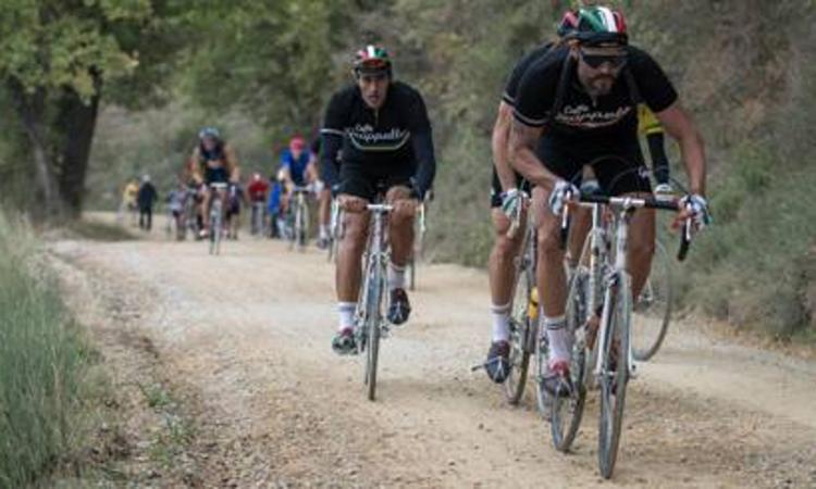 Luis Enrique cicloamatore all'Eroica
