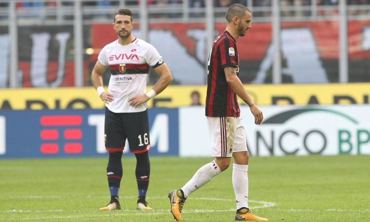 Bonucci determina in negativo: e se il suo stop fosse un bene per il Milan?
