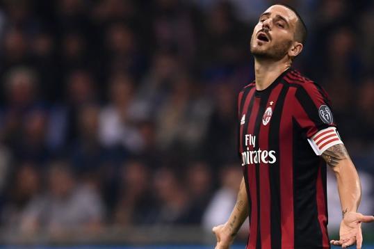 AC Milan, Bonucci 'destined' to skip Juve clash