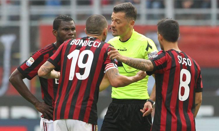 Milan, Bonucci: 'Ho chiesto scusa. Mai restituito la fascia, non sono pentito'